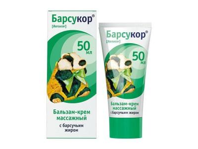 Барсучий жир бальзам-крем массажный для детей, 50 мл
