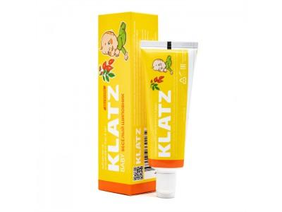 Klatz Baby Зубная паста для детей веселый Шиповник без фтора, 40 мл