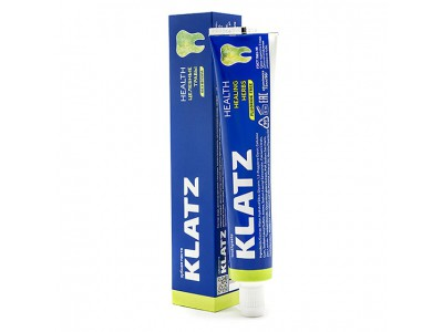 Klatz Health Зубная паста Целебные травы без фтора, 75 мл