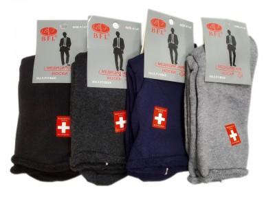 Носки медицинские без резинки махровые (размер 37-41)