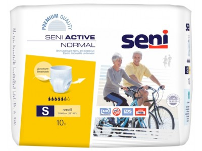 Трусы впитывающие Seni Active Normal S (10 шт.)