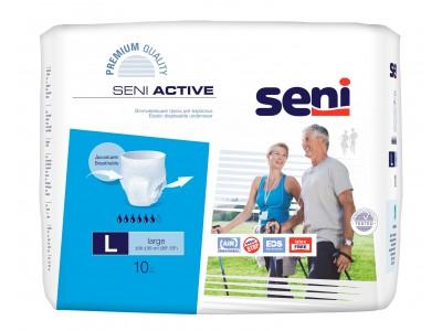 Трусы впитывающие Seni Active L (10 шт.)