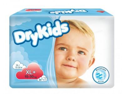Drykids подгузники для детей XL+ (15-30 кг) (30 шт.)