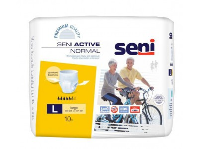 Трусы впитывающие Seni Active Normal L (10 шт.)