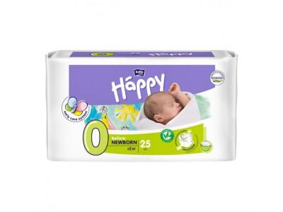 Подгузники Bella Baby Happy 0 before Newborn 0-2 кг, (25 шт.)