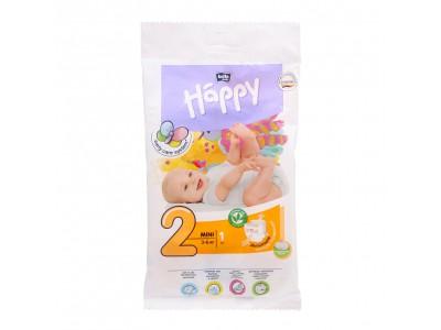 Подгузники Bella Baby Happy 2 mini 3-6 кг, (1 шт.)