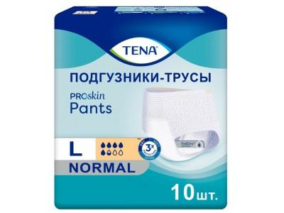 Трусы впитывающие TENA Pants Normal L (10 шт.)