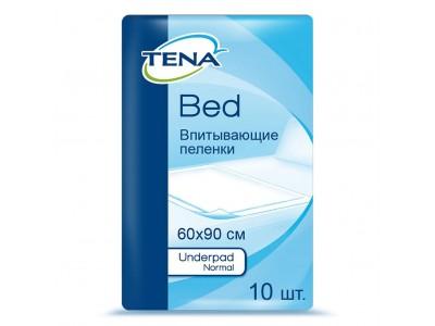 Пеленки Tena Underpad Normal, 60x90 см, (10 шт.)