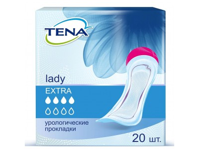 Урологические прокладки TENA Lady Extra (20 шт.)