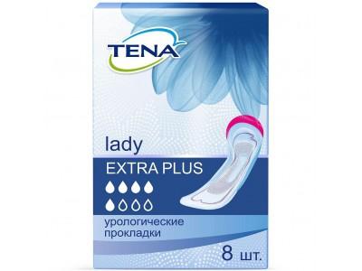 Урологические прокладки TENA Lady Extra Plus (8 шт.)