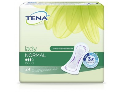 Урологические прокладки TENA Lady Normal (24 шт.)- 3 капли