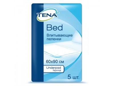 Пеленки Tena Underpad Normal, 60x90 см, (5 шт.)