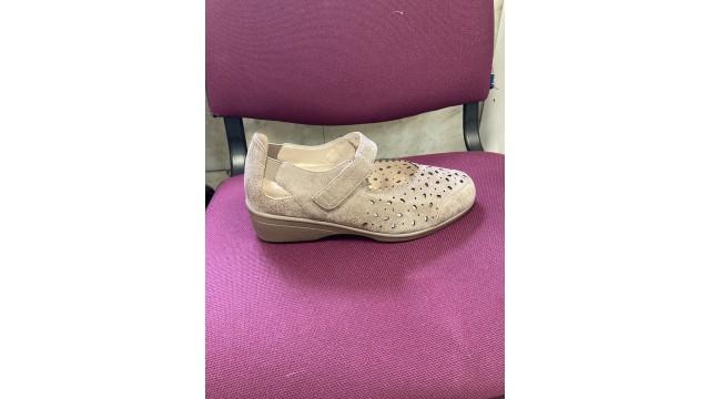 Туфли женские, св. серый